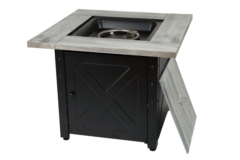 "Endless Summer Mason 30"" LP Square LP Fire Pit"