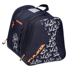Kulkea Kids' Speed Star Boot Bag - Navy/Orange