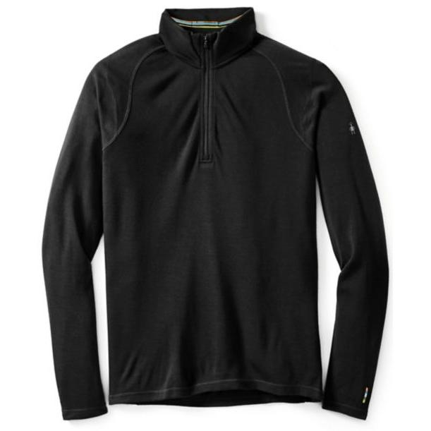 SMARTWOOL MENS MERINO 250 BASELAYER 1/4 ZIP NECK