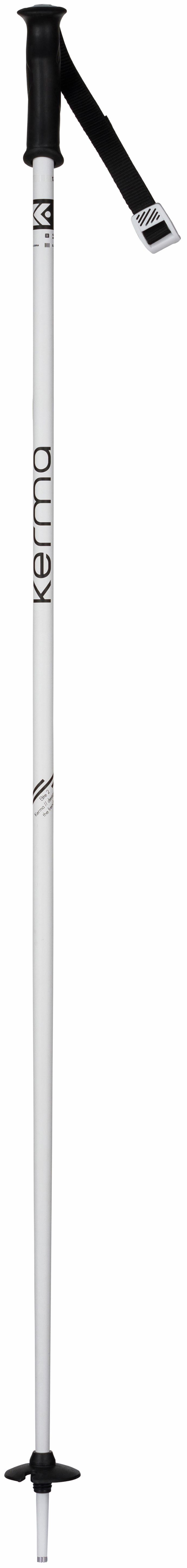 KERMA WOMEN'S ELITE 2 SKI POLES WHITE