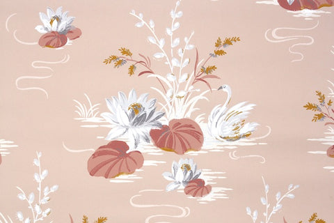 1940s Bathroom Vintage Wallpaper