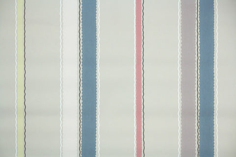 1940s Stripe Vintage Wallpaper