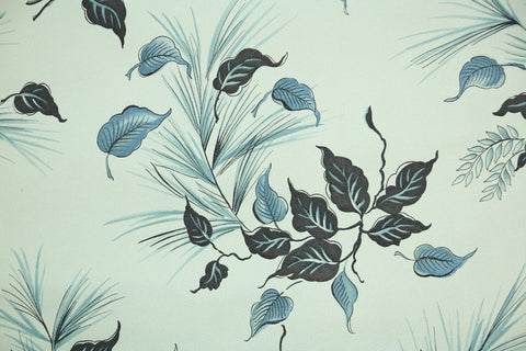 1940s Botanical Vintage Wallpaper
