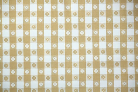 1970s Plaid Vinyl Vintage Wallpaper
