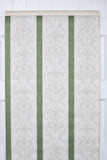 1950s Damask Stripe Vintage Wallpaper