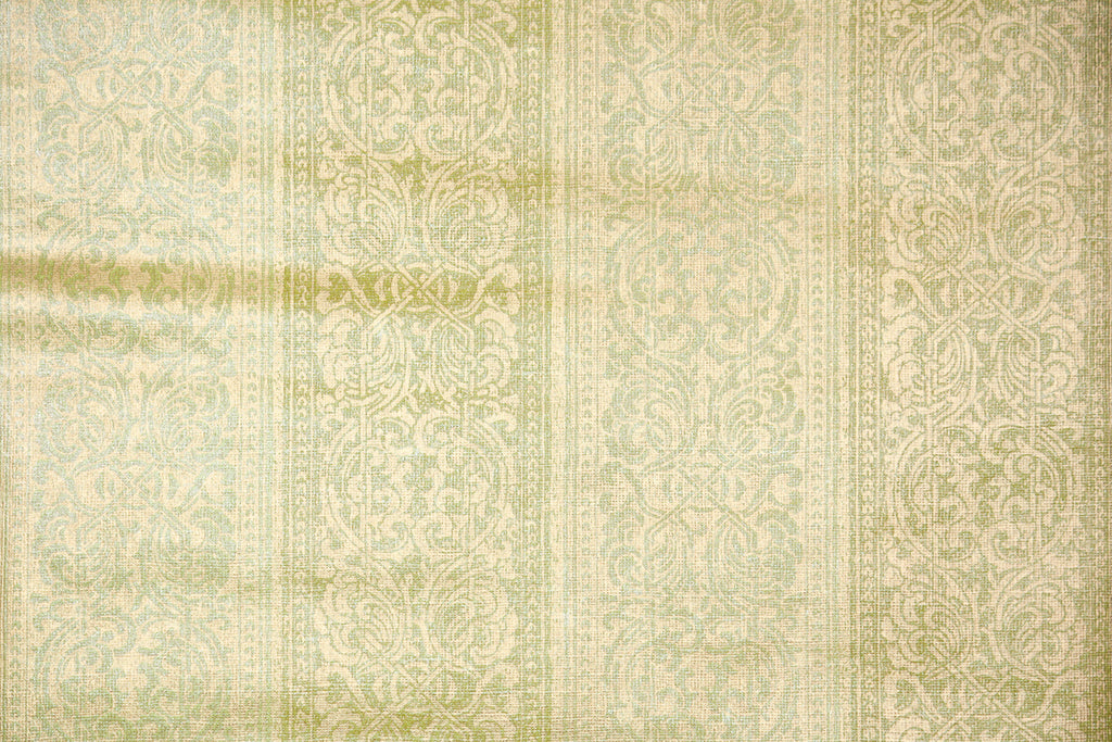1970s Damask Stripe Vintage Wallpaper