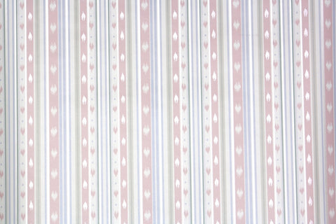1980s Stripe Vintage Wallpaper