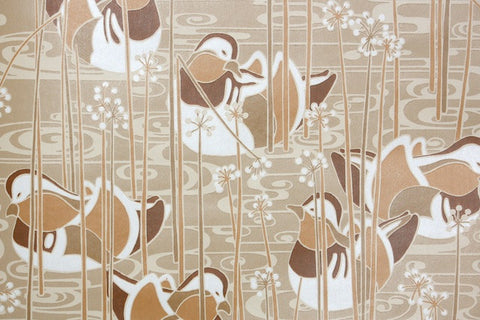 1970s Bathroom Vintage Wallpaper