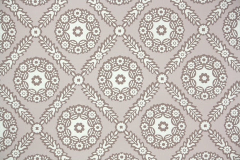1950s Geometric Vintage Wallpaper