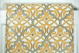 1970s Geometric Damask Vintage Wallpaper