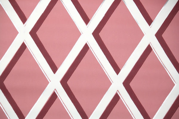 1950s Geometric Vintage Wallpaper Hannah S Treasures