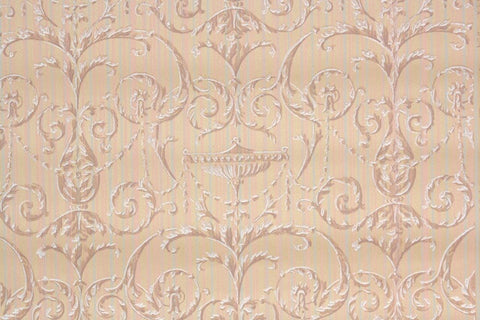 1920s Damask Vintage Wallpaper