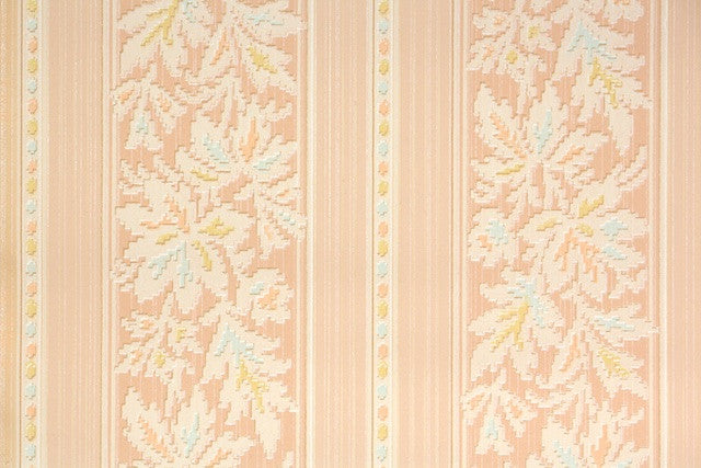 1920s Botanical Vintage Wallpaper