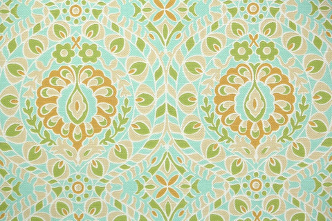 1960s Geometric Damask Vintage Wallpaper