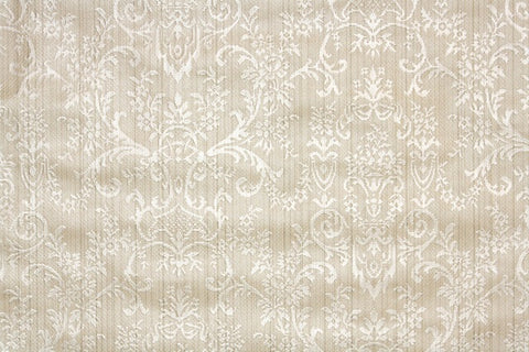 1940s Damask Vintage Wallpaper