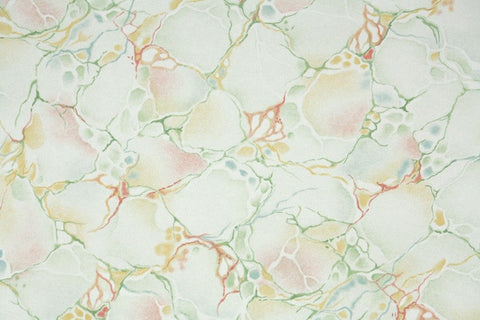 1940s Faux Marble Vintage Wallpaper