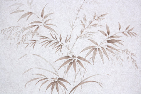 1980s Botanical Vintage Wallpaper