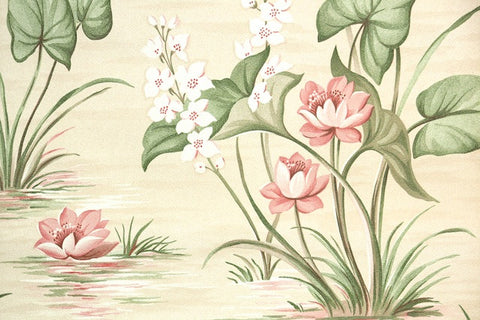 1940s 1950s Vintage Wallpaper Antique Wallpaper Hannahs
