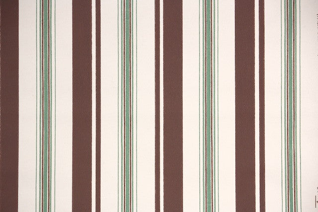 1940s Stripes Vintage Wallpaper