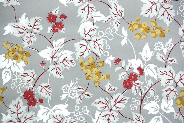 1950s Botanical Vintage Wallpaper