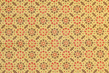 1970s Geometric Vinyl Vintage Wallpaper