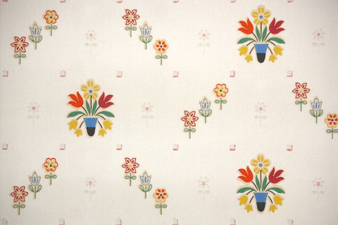 1930s Kitchen Vintage Wallpaper