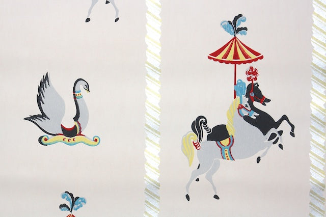 1940s Childrens Vintage Wallpaper