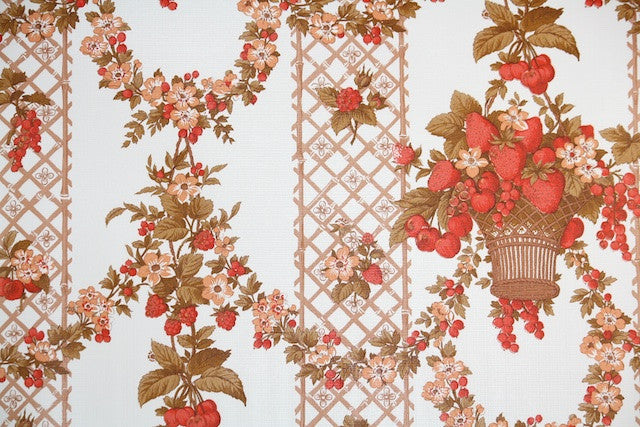 1970s Kitchen Vintage Wallpaper