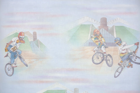 1980s Novelty Vintage Wallpaper
