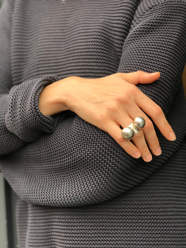 Statement bubble ring MINDSET