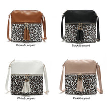 Load image into Gallery viewer, Rocco Leopard Crossbody Purse