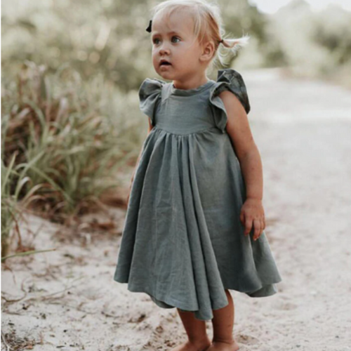 Tatum Linen Dress
