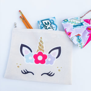 Back to School Pouch + Free Goats Milk Lip Balm