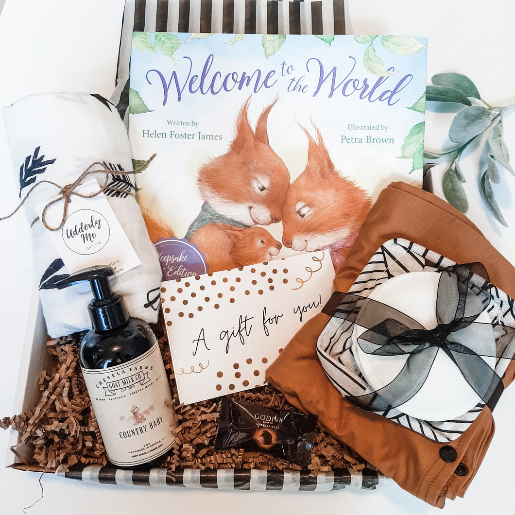 Keepsake Welcome Box - Brown Sugar