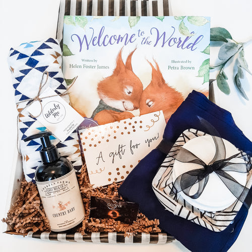 Keepsake Welcome Box - Midnight Blue