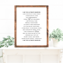 "Load image into Gallery viewer, ""I Am"" Motivational Print"