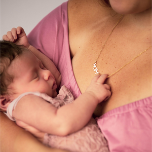 Gold Mom, Mama & Love Necklace