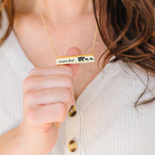Load image into Gallery viewer, Protect the Innocent Mama Bear Necklace