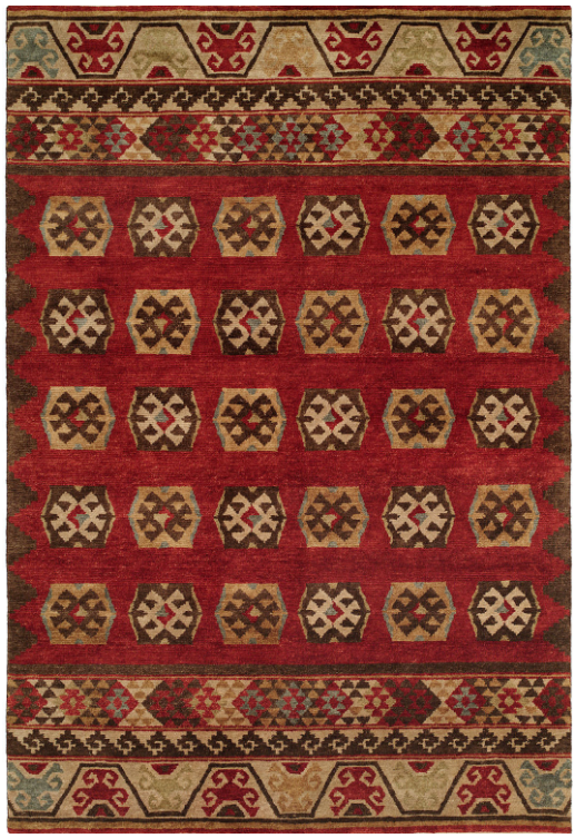 New West 698 Multi Tibetan Weave Rug
