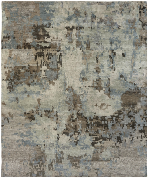 Marlowe 951 Earth + Water Handknotted Rug