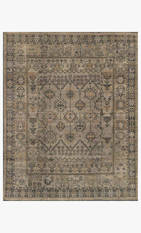 Heritage HQ-06 Bone Charcoal Handknotted Rug