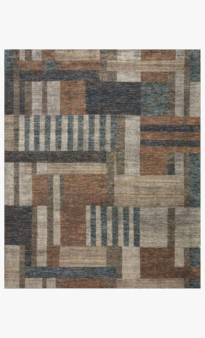 Immy ISY-04 Denim Multi Handknotted Rug