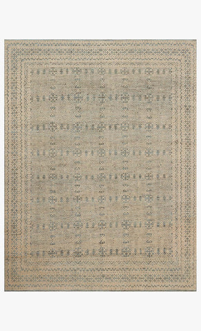 Odyssey OI-01 Blue Natural Handknotted Rug