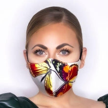 "Load image into Gallery viewer, ""Exotic Butterfly"" Atelier Face Mask"