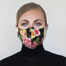 "Load image into Gallery viewer, ""Kimono III"" Couture Face Mask"