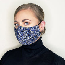 "Load image into Gallery viewer, ""Zoom I"" Couture Face Mask"