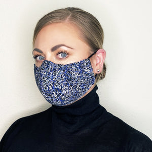 """Zoom I"" Couture Face Mask"