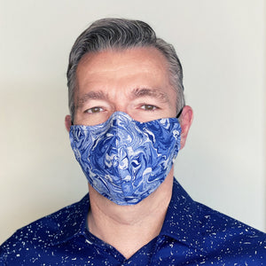 """Elliott Bay"" Couture Face Mask"
