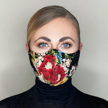 "Load image into Gallery viewer, ""Kimono II"" Couture Face Mask - Sold Out"