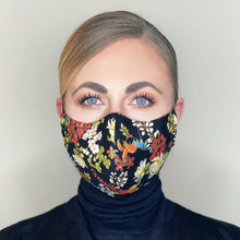 "Load image into Gallery viewer, ""Floral Kimono"" Couture Face Mask - Sold Out"